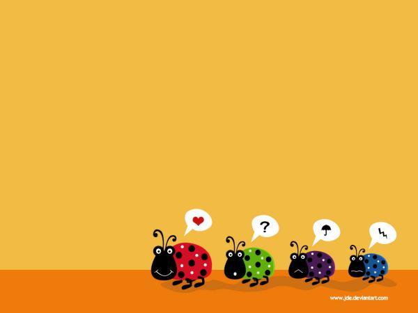 温馨童趣风格 julia插画设计壁纸(11)