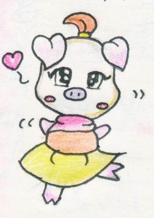 可爱的猴子 儿童画_第2页_绘画分享