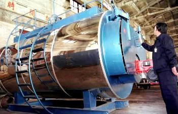 高原型高效环保冷凝整体式燃气锅炉在青海研制成功