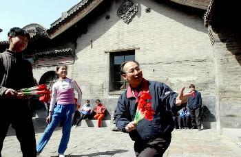 图文:晋西北老人生活素描