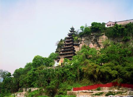 资料图片:忠县石宝寨