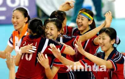 南开大学女排出战的,主要以天津和辽宁队员为主.天津有杨洁高清图片