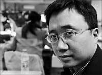 记者陈峰:把孙志刚案的真相告诉人们(图)