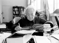文学界人士谈百岁巴金巴金老人是一面镜子(组图)