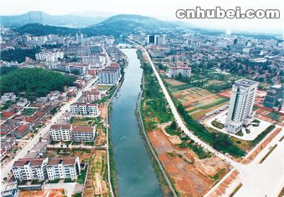 咸安经济开发区规划图