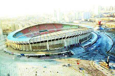 京2008年奥运会足球比赛分赛场(图)