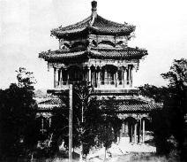 北京圆明园烧毁当天拍摄的建筑照片亮相(组图)