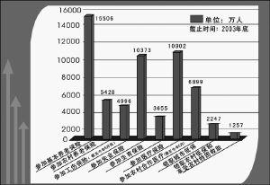 中国社保体系初步形成(图)图片