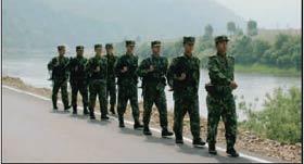 中朝边境成媒体关注焦点解放军换防带来平静