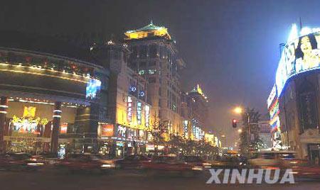 北京国庆夜景照明吸引中外游客600多万人(图)