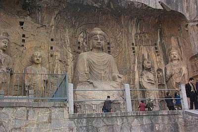 世界文化自然遗产--洛阳龙门石窟(组图)