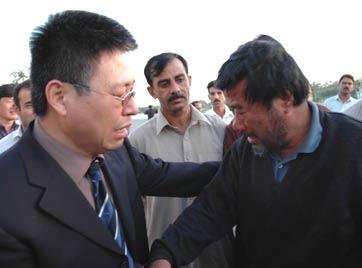 图文:被巴军方解救的中国工程师王恩德