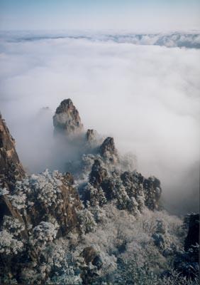 正文    黄山是中国十大风景名胜之一,1990年被联合国教科文组织世界