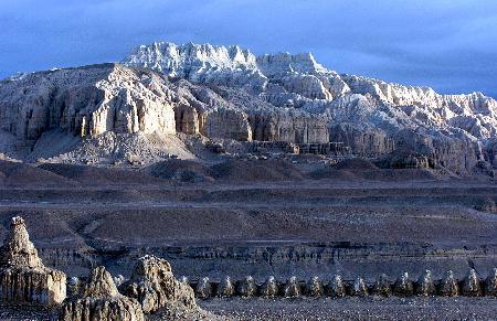 图文:西藏阿里土林奇观(1)