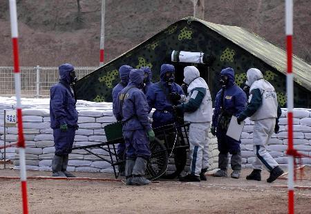 侵华日军出庭证明曾在中国埋藏大量毒气弹