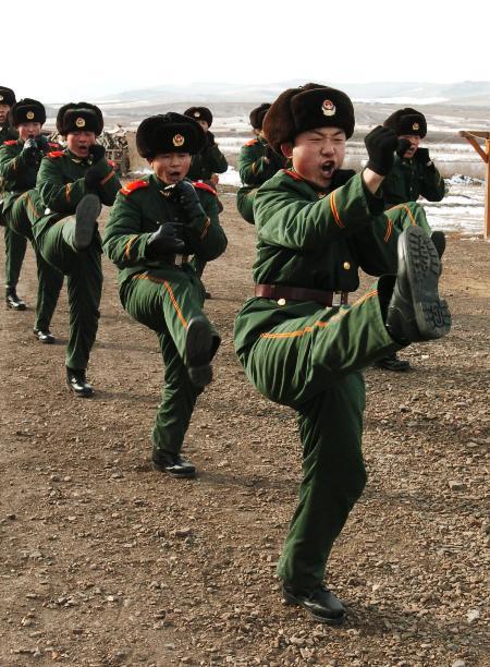 3 内蒙古武警边防部队战士复员工作全面展开图片