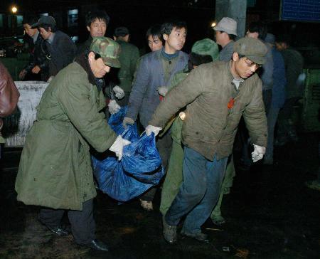 陕西矿难166名矿工遇难21名矿工遗体运出