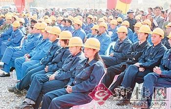 桂梧高速公路钟山至马江段开工(组图)