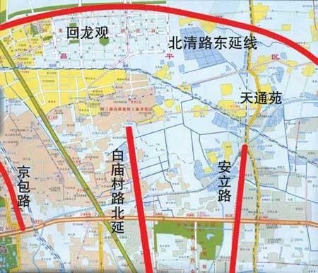 北京公布回龙观天通苑两大社区解困方案(组图)