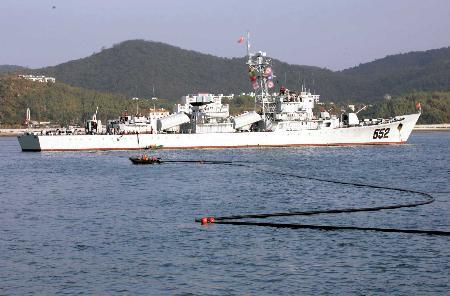 图文:[军事天地](2)海上民兵专业分队作战支援训练纪实