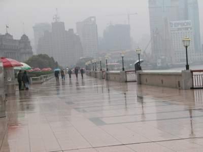上海市迎来今冬第一场雪气温将逐步下降(组图)