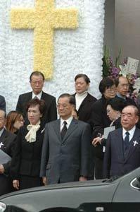 目击蒋方良葬礼:移灵途中发生怪事(图)