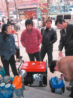 武汉近期频频停电发电机走俏(图)