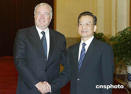 ...理保罗·马丁20日下午抵达北京,开始对中国进行正式访问.