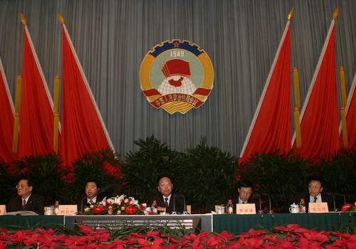 组图:上海市政协十届三次会议胜利闭幕