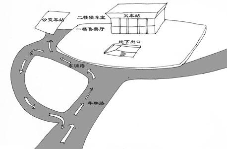 明起春运榕新火车站首次大考(组图)