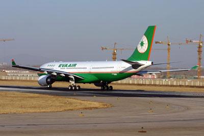 图文:长荣航空公司的客机