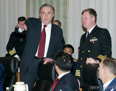 中美两军高官在京会晤谈台湾问题