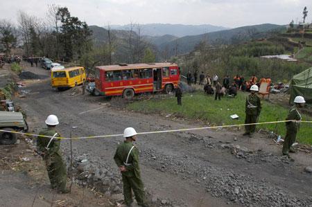 云南富源煤矿瓦斯爆炸死亡人数增至13人失踪9人