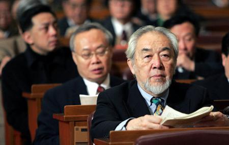 图文:全国政协十届三次会议举行第四次全体会议