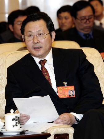 图文:黑龙江人大代表王宗璋发言
