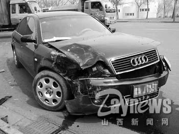 audi车-据目击者说,当时,奥迪车从市场出来欲向南行驶,不想视线被一辆大图片