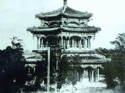 圆明园珍贵老照片公布纪念被毁144周年(图)
