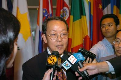 中国代表王光亚称不应强行表决联合国改革方案