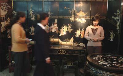 家具杭州漆艺家具展昨日城南开展有限公司首届北京洛林斯图片