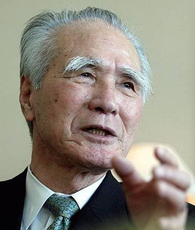 资料:日本前首相村山富市