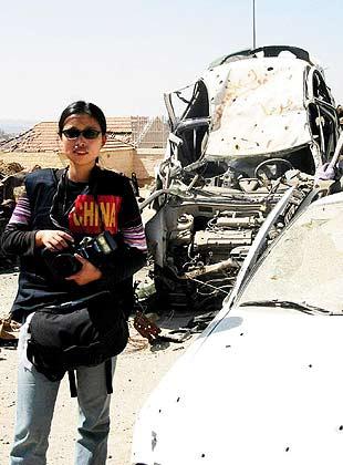 上海姑娘周轶君:全球唯一驻加沙女记者(组图)