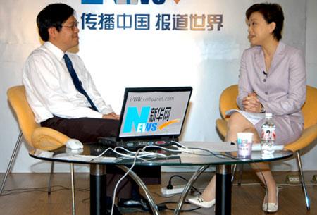 专访:杨澜谈采访台湾政治人物的幕后故事