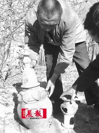 组图:找水掀开北魏古墓之门