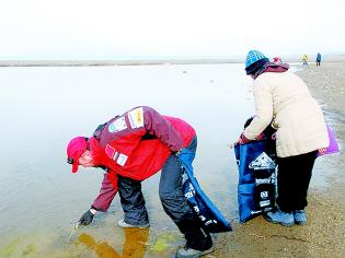 珠峰清扫者今回京400余袋垃圾已转交当地政府(图)