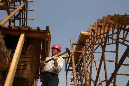 """图文:[社会文化专线](1)兰州将建成""""中国水车之都"""""""