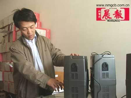 组图:内蒙古二十万考生今日赶考