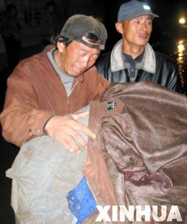 组图:黑龙江宁安洪水数十学生遇难