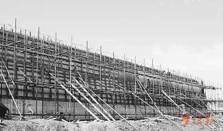 黑龙江齐齐哈尔将修建抗战墙镶嵌抗战人士手印(组图)
