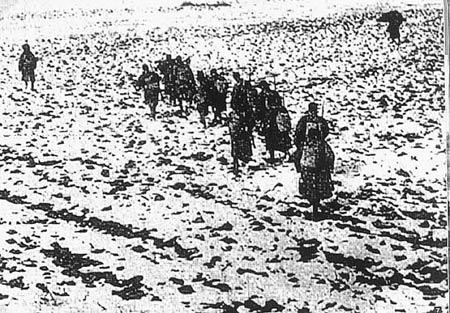 图文:东北抗日联军战士