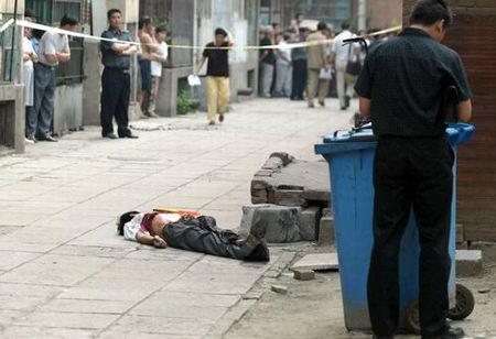 组图:北京朝阳区发生械斗造成两人死亡